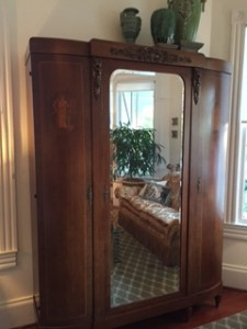 Turn of the century armoire